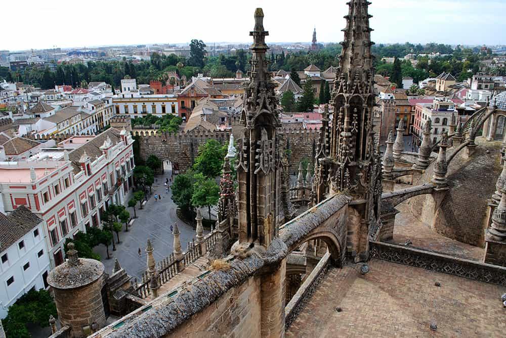 visita a las cubiertas de la catedral de sevilla
