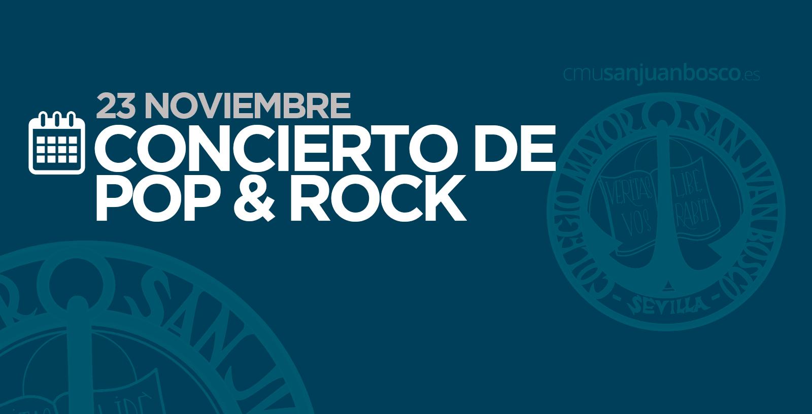 Concierto de pop & rock