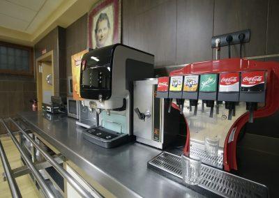 Zona de Bebidas del Comedor