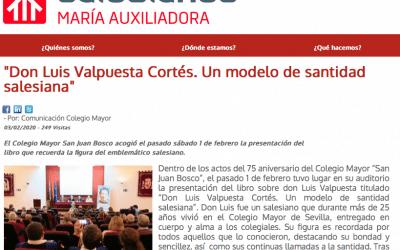 Don Luis Valpuesta Cortés. Un modelo de santidad salesiana.