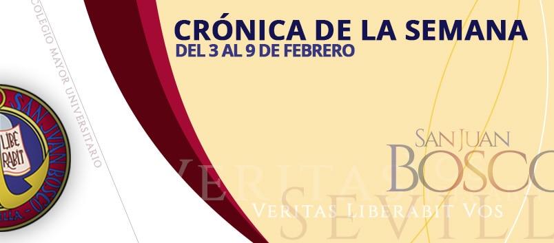 CRÓNICA DE LA SEMANA DEL 3 AL 9 FEBRERO
