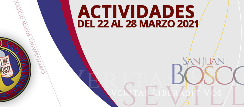 Actividades del 22 al 28 de marzo 2021
