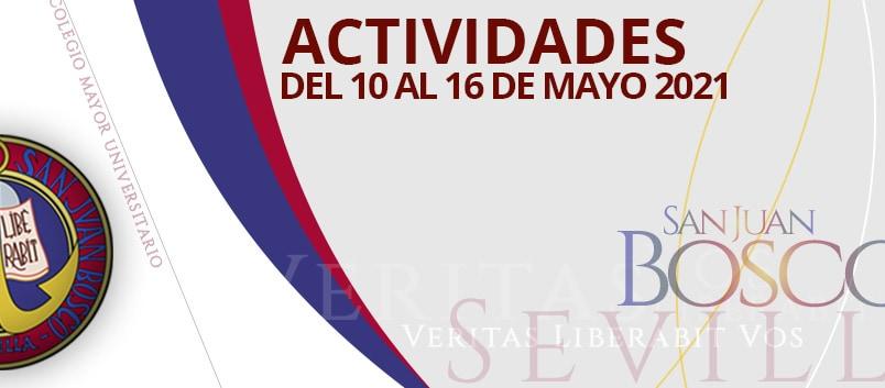 Actividades del 10 al 16 mayo 2021